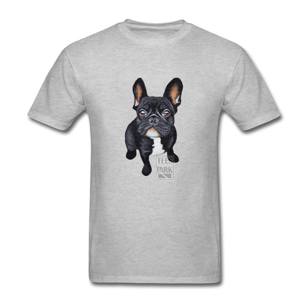 Mens Nice Shirts French Bulldog Homem Natural Cotton Short Sleeved T-Shirts Latest Homem T Shirt Men Cotton(China (Mainland))