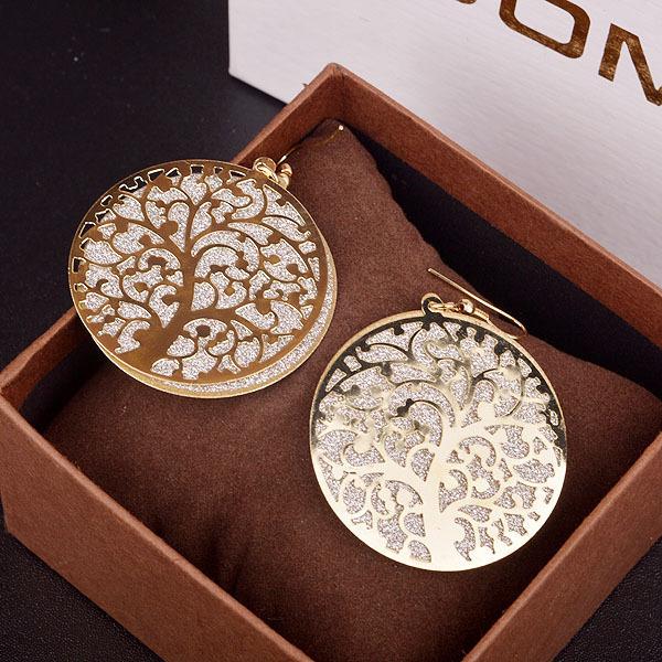 Ethnic Round Earrings