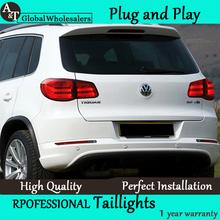 A&T Car Styling 2010-2012 Tiguan LED Taillights Volks Wagen Tiguan Tail Lamp Rear Lamp LED DRL+Brake+Park+Signal led light