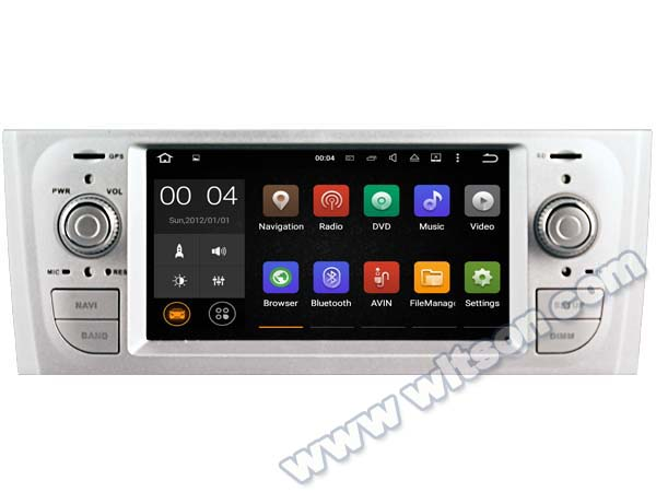 """6.1"""" Quad Core Android 5.1 OS One Din Special Car GPS Radio for Fiat Punto I (176) 1993-1999 & Fiat Punto II (188) 1999-2010(China (Mainland))"""