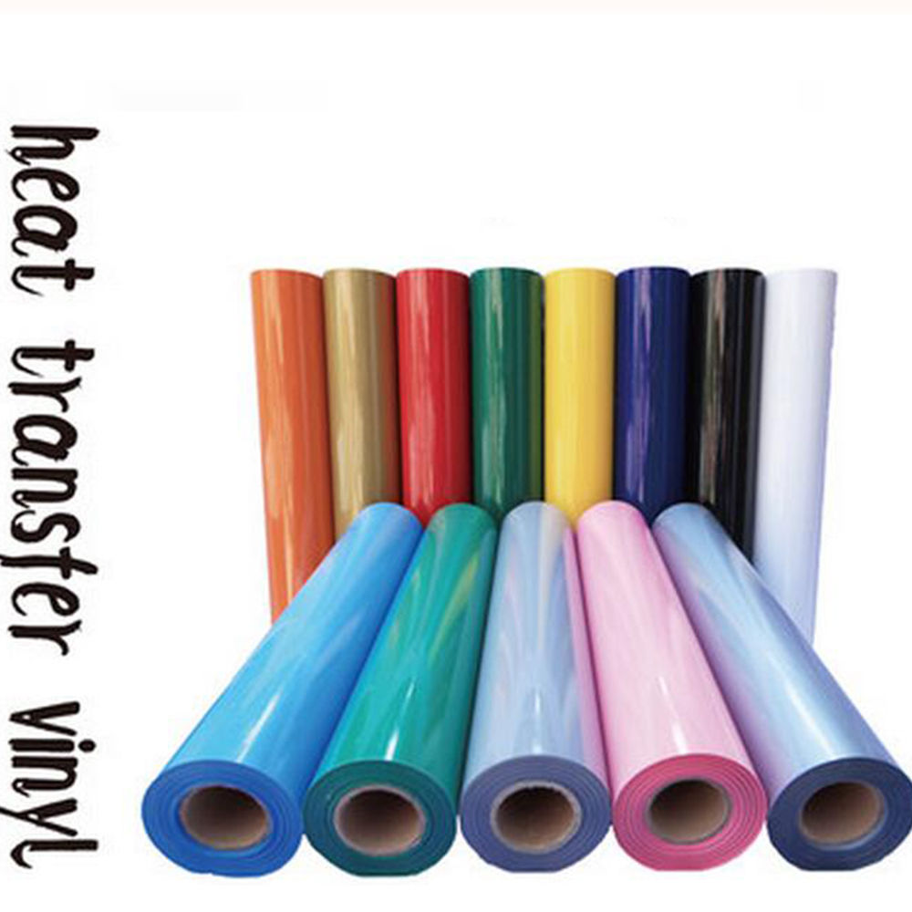 "Heat Transfer PU Vinyl for T Shirts,High-quality Heat Transfer Vinyl, 0.3MX1M (12""X40"")(China (Mainland))"