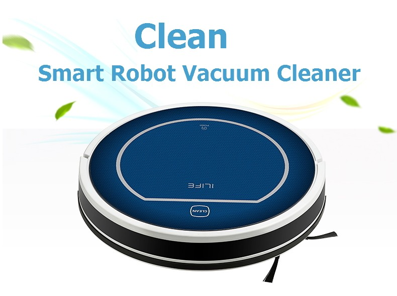 Bluetooth Robot Vacuum Cleaner for Home V7,Mobile APP Control, MOP, Cliff Sensor, Self Charge iLife Vacuum ROBOT ASPIRADOR(China (Mainland))