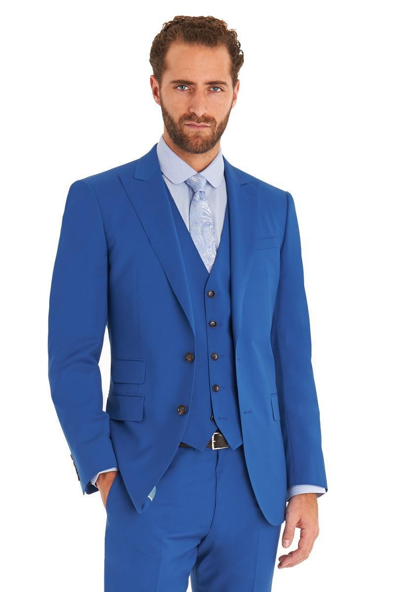 Reasonably Priced Three Piece Suit Mens Vested & Pinstripe Suits When you need a quality 3 piece suit or pinstripe suit for your wardrobe, MensItaly can come to your rescue without a doubt. Our online retailer can accommodate all of your three piece pinstripe suit needs easily.