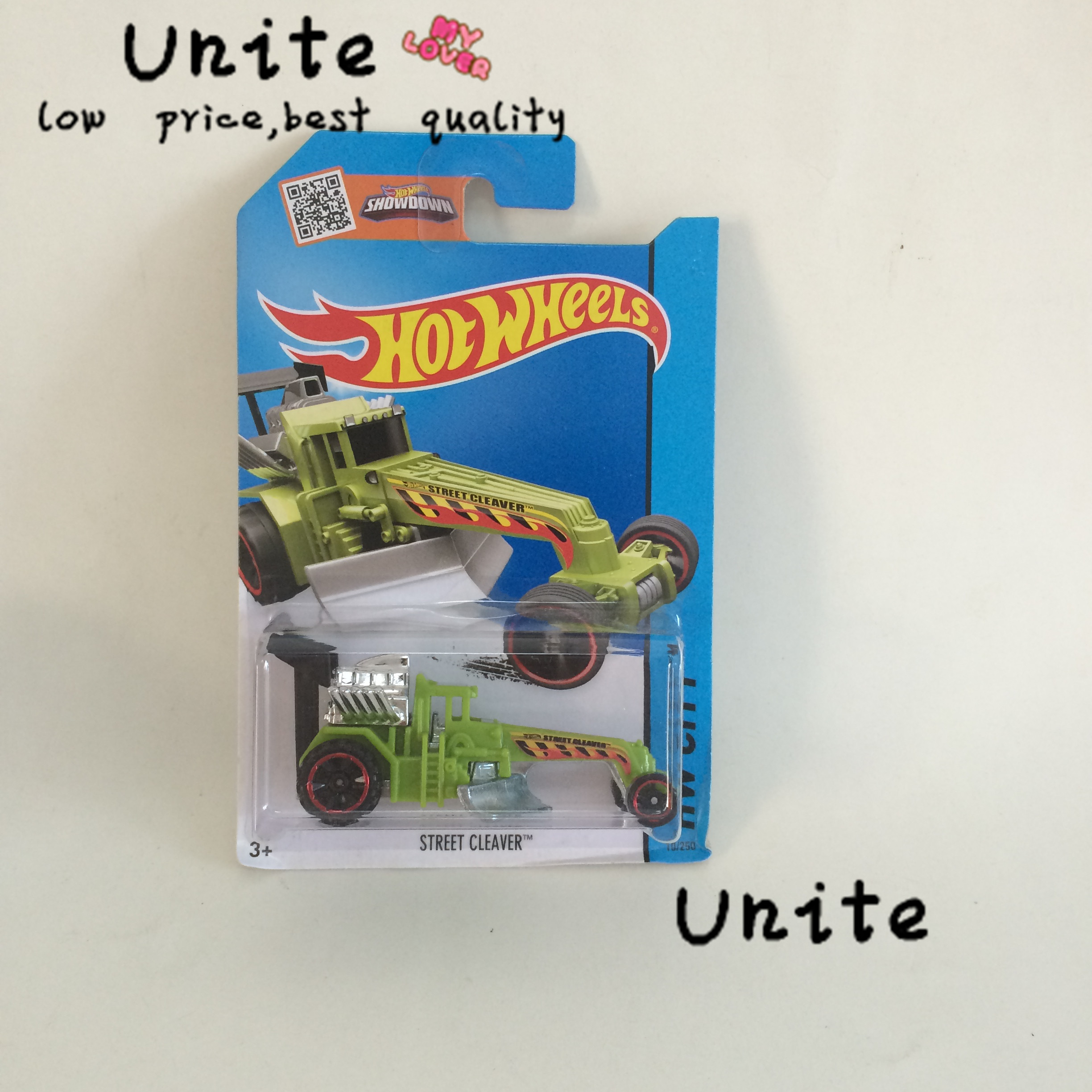 Free Shipping Street Cleaver green Alloy Cars Models Special Type Wholesale Metal Mini Cars For Collector Hot Wheels Shark 1:144(China (Mainland))