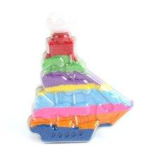 6PCS/LOT,Pirate sand bottle,Sand painting,Sand art kit, Empty bottle,Birthday gift,Educational toys,12.5x9cm,Freeshipping(China (Mainland))