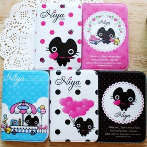 Pocket CUTE Card Holder Cartoon Lovely ID Credit Case Wallet(China (Mainland))