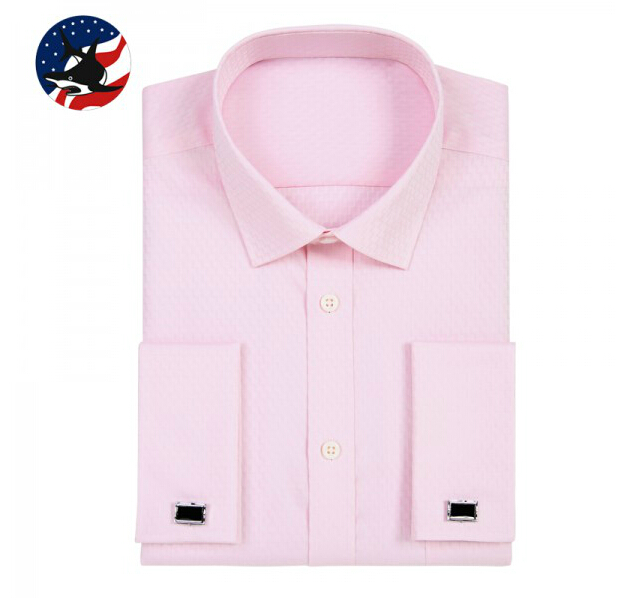 Luxury 100 Cotton Formal French Cuff Shirt Classic Design