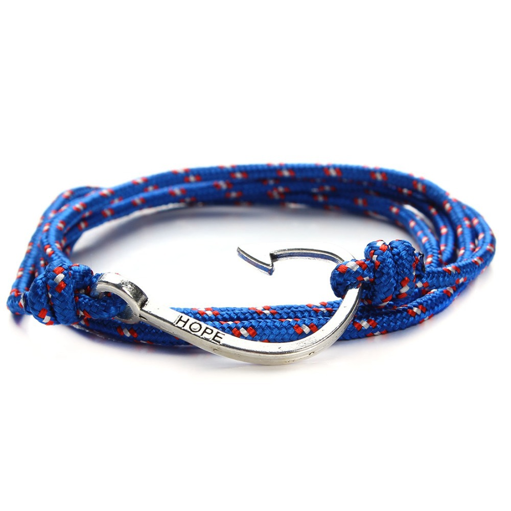2015 New Fashion Leather Bracelets for men Popular Charismatic bandages Toggle clasps Anchor friendship bracelets F2835
