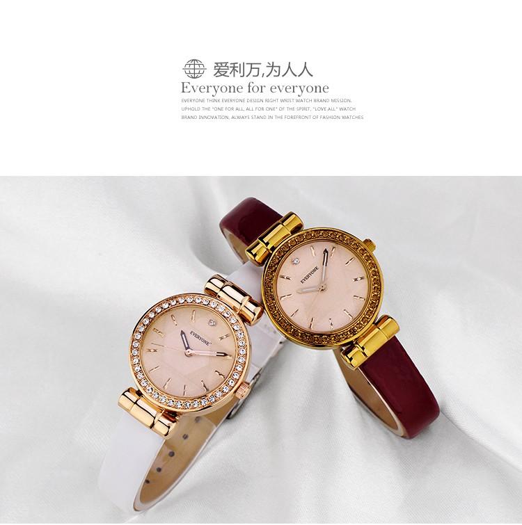 2016 бренд все женщины часы кварцевые роскошные relogio masculino водонепроницаемый 30 м смотреть кожаный ремешок часы