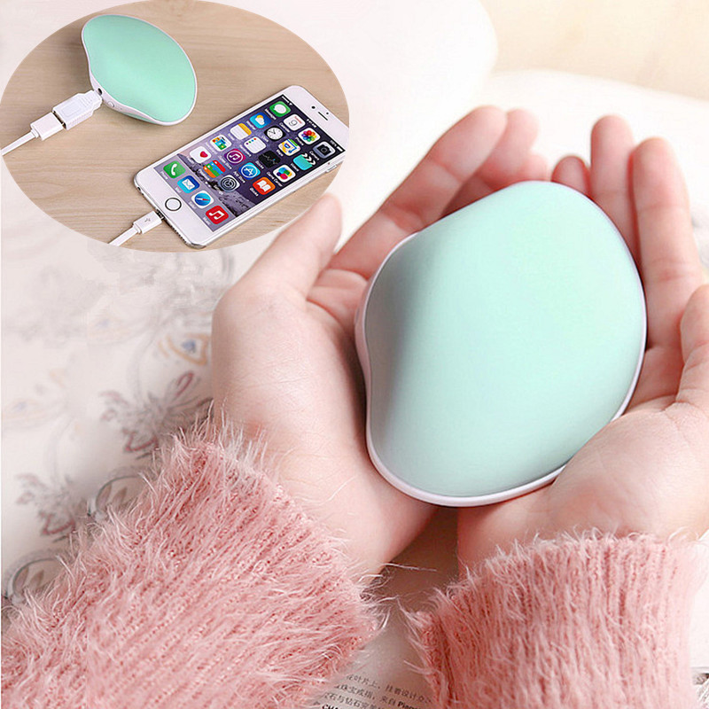 Гаджет  2015 New Arrive High quality 4000mAh Portable Charger Winter Hand Warmer 5V 1A Output Use for Mobile phone 2 in1 Power Bank None Бытовая техника