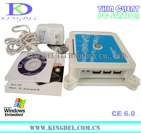 3 USB Thin Client Computer, Mini PC station with 800Mhz, 32 Bit, Microphone, Printer, Touchscreen, WIN7/VISTA supported(Hong Kong)