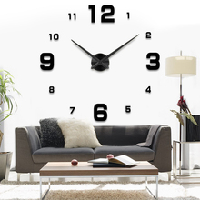 Fashion 3D 2015 new sale wall font b clock b font font b clocks b font