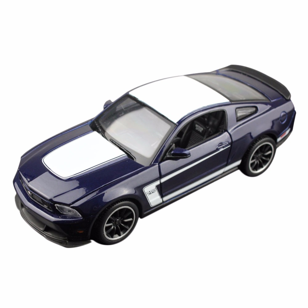 MAISTO 31269 1/23-25 Scale MUSTANG BOSS 302 Dark Blue Diecast Vehicles Model Toy Car Alloy Hobby Car SCT(China (Mainland))