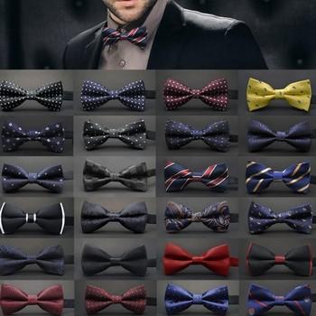 Wedding Ties Adjustable Satin Men Dot Tuxedo Classic Party Novelty Bow Tie Necktie pajaritas hombre noeud papillon men