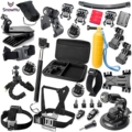 GoPro accessories Set Family Kit Go Pro SJ4000 SJ5000 SJ6000 accessories package for GoPro HD Hero