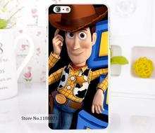 TOY STORY OF SHERIF WOODYphone case Style For iPhone6 6s 6g iphone 6+ 6 plus Transparent Case Hard Clear Cover New