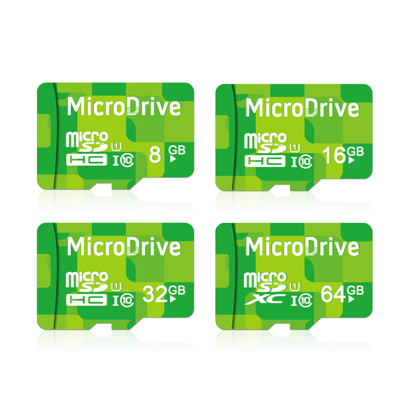 Green 4g 8g 16g 32g 64g Memory cards Micro SD card 64GB class 10 Memory card Microsd TF card Pendrive Flash(China (Mainland))