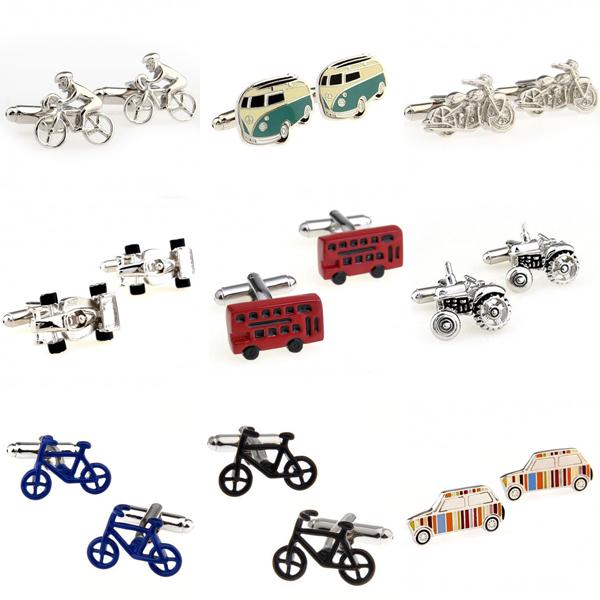 Bike Bus Motor Sports Car Paul Cufflink Cuff Link 1 Pair Free Shipping Biggest Promotion(China (Mainland))