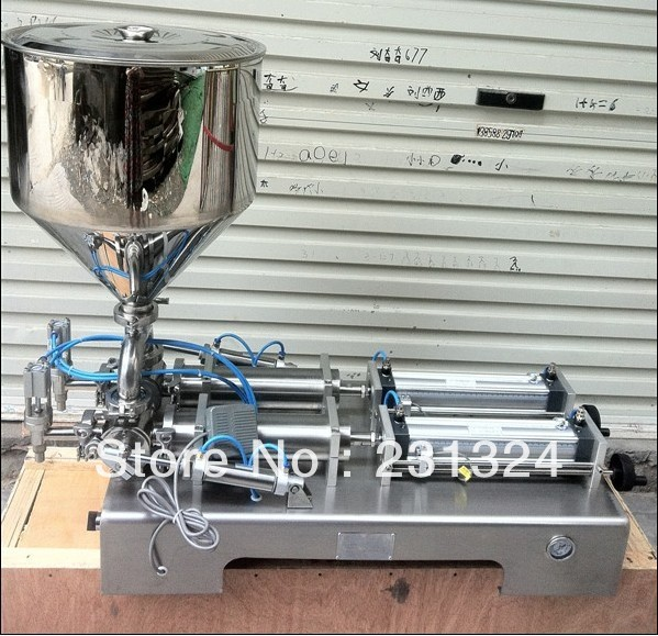 Double Heads Pneumatic Liquid Paste filling machine shampoo,cosmetic,juice,toothpaste, 5ML-100ML - Lyly L's store