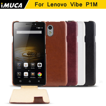for Lenovo Vibe P1M cases luxury leather flip Cover for lenovo vibe p1m Phone case cover imuca brand mobile phone bag(China (Mainland))