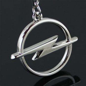 Fashion Metal 3D Car Logo Keychain Key Chain Keyring Key Ring Chaveiro Llavero For Opel Auto Pendant Car Accessories Wholesale