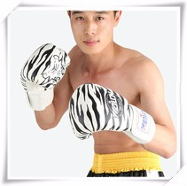 Boxing-Gloves-Leather-Women-Men-Gloves-MMA-Sanda-Tiger-Stripes-Luvas-Muay-Thai-Breathable-Fighting-Gloves