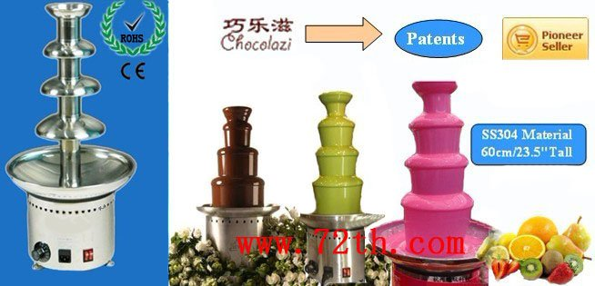 60cm 4 tier Commercial chocolate fountain<br><br>Aliexpress