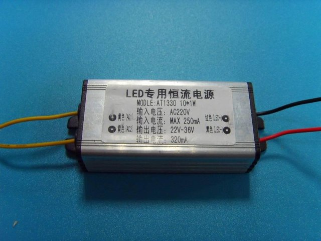 CE approved waterproof LED Constant current driver;3*3W;AC85-265V input;680ma output;P/N:ATAT1330