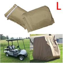 Waterproof 4 Passenger Golf Cart Cover for EZ GO Golf Cart Club Car, Size S / M / L(China (Mainland))