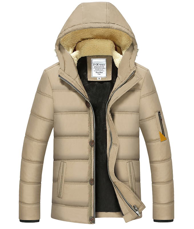 Free Shipping New Arrival Men Winter Fashion Casual Down Parka Hooded Man Coat Jacket Windproof padded Handsome Winter Coat Men