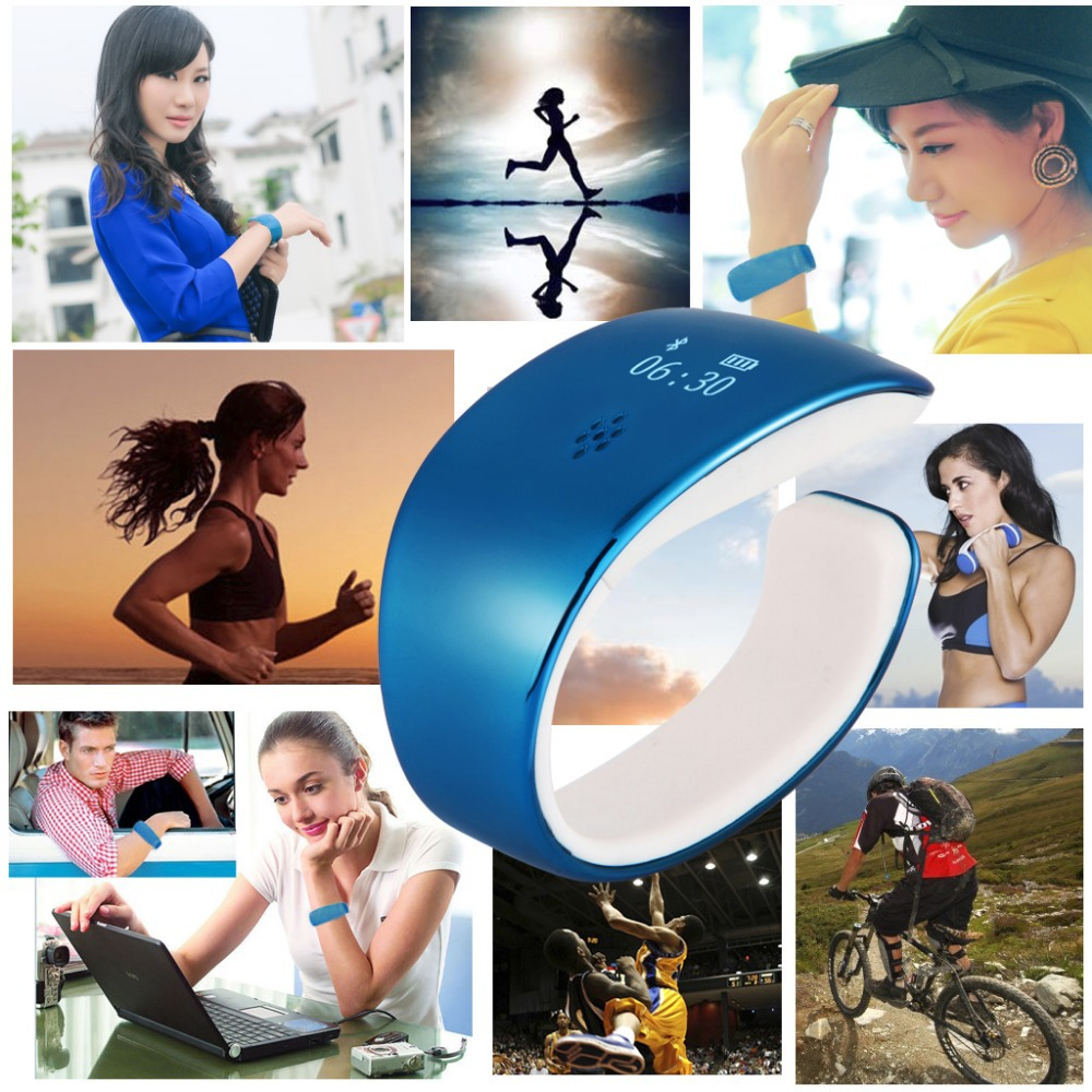 Bluetooth Smart Bracelet Sports Watch Sync Call/SMS Anti-lost For Ios/Andriod(China (Mainland))