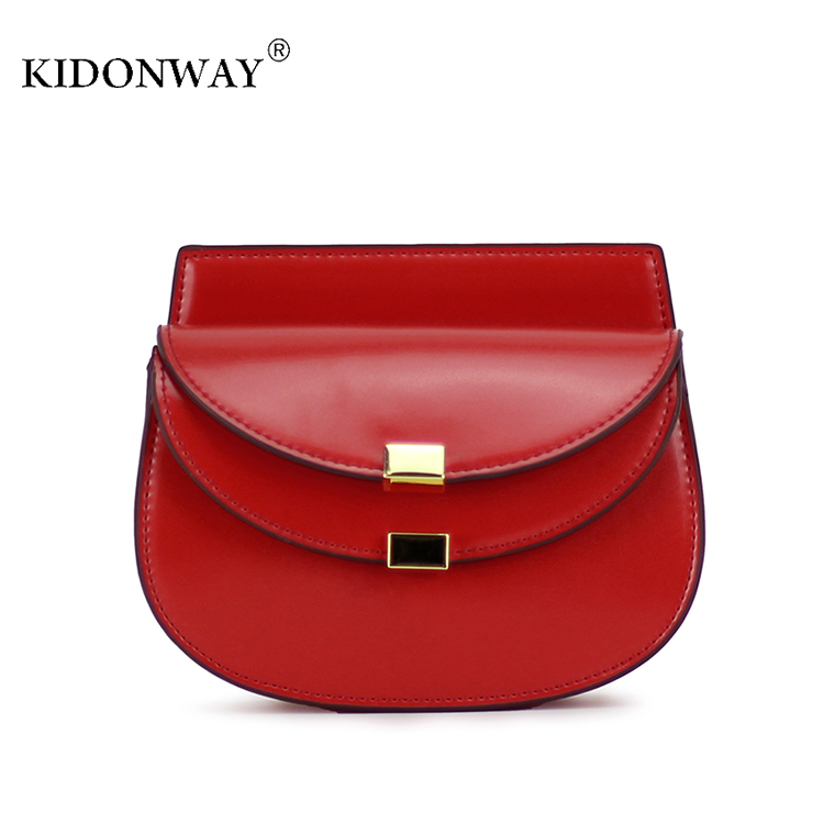 KIDONWAY Smooth and Soft Girls Shoulder Bag Iphone 6 Plus Size Kids Purse for Teens Children Hasp Sling Bag Mini Women Bag(China (Mainland))