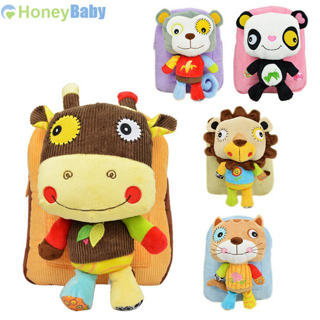 Sozzy малыш рюкзак мешок закуски пакет для детей 2 - 5 лет плюшевые рюкзаки YYT189-YYT193