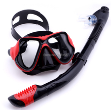 professional scuba diving equipment kit,dive mask and snorkel,diving set,scuba mask snorkeling kits,equipamento de mergulho(China (Mainland))