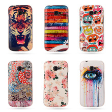 Cartoon Soft TPU Case Rubber Silicon For Samsung Galaxy Star Plus / Pro gt-7262 S7260 S7262 Printed Cover Protective Phone Cases