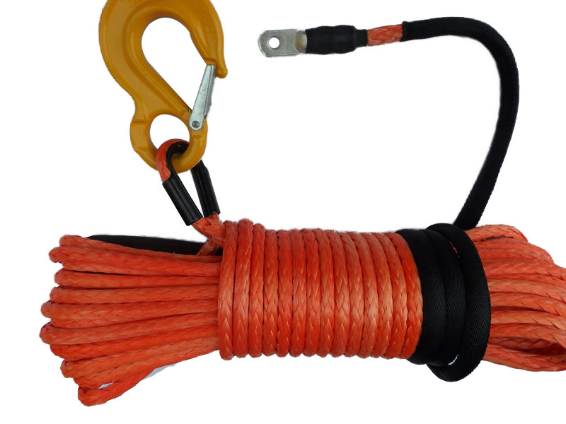 12mm*30m winch rope for sale,synthetic rope for winch accessories,amsteel winch rope(China (Mainland))