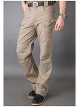 Caccia sport usura elastico multi-tasca pantaloni tattici urbani pantaloni x7 degli uomini pantaloni casuali di trasporto libero(China (Mainland))