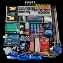 Стартовый Комплект для arduino Uno R3-Uno R3 Макет и держатель Step Motor/Серво/1602 LCD/перемычку/ООН R3(China (Mainland))