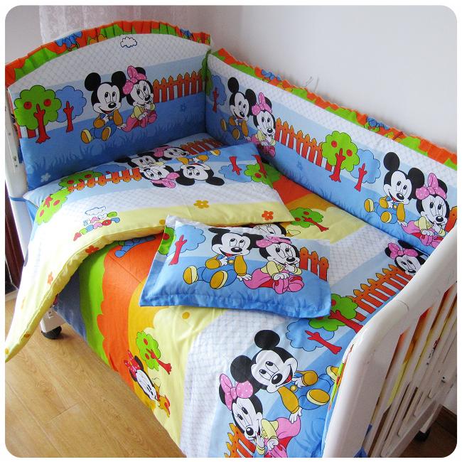 Animal world printing 100 cotton new baby boy bedding for World crib bedding