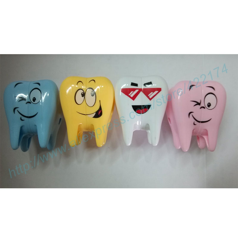 Free Shipping wholesale 4pcs Cute cartoon toothbrush holder dental Accessories adornment products dental supplies for dentist<br><br>Aliexpress