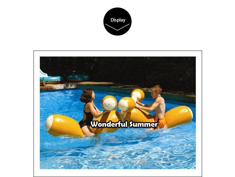 HTB14E oHVXXXXXmXVXXq6xXFXXXT - 4 Pieces/set Joust Pool Float Game Inflatable Water Sports Bumper Toys For Adult Children Party Gladiator Raft Kickboard Piscina