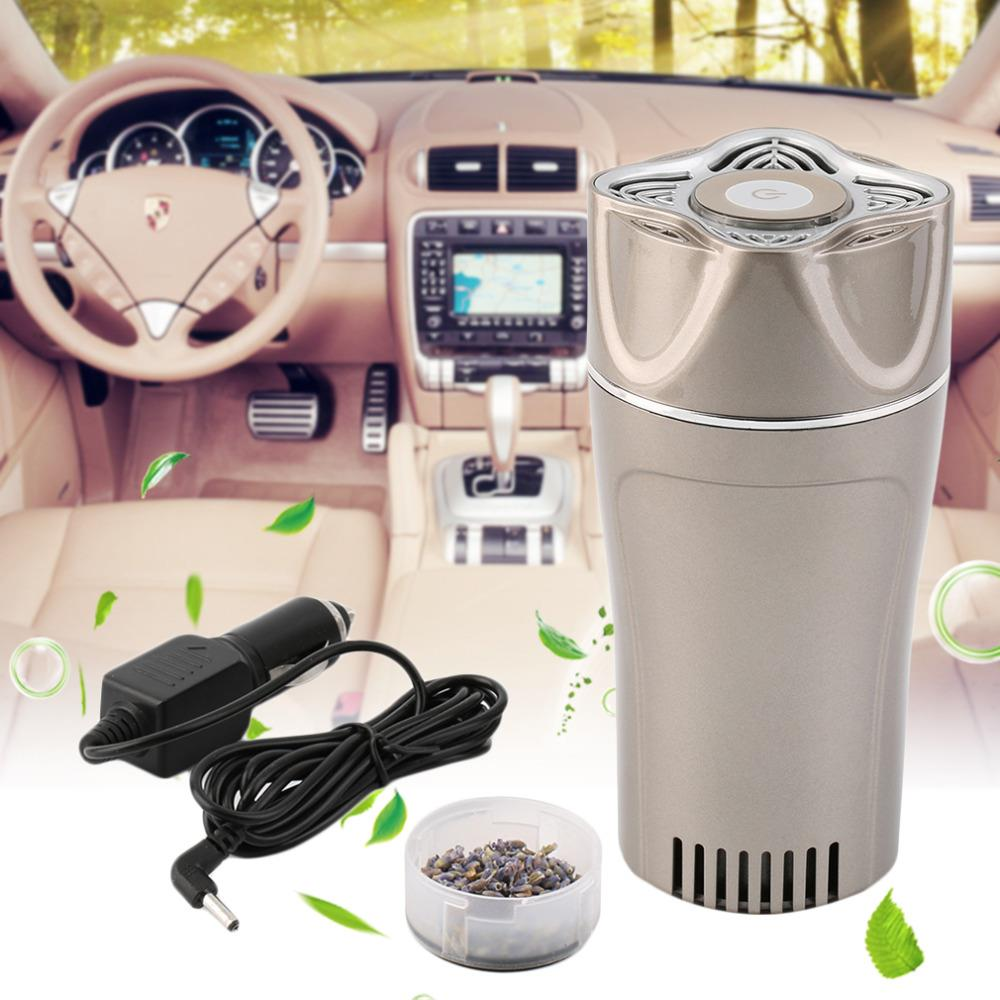 Hot Magical Cup Shaped Car Anion Air Purifier Aromatherapy Dust Cleaner Remove Odor New(China (Mainland))
