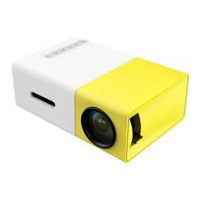 YG300 Portable LED Projector Cinema Theater USB/SD/AV/HDMI Input Free Shipping(China (Mainland))