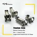 TiTo titanium bicycle stem Bike Stem MTB mountain Road handlebar Stem 25 4mm 31 8mm x