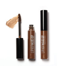 LIPHOP Makeup Cosmetics 4 Colors Waterproof Dye Eyebrow Mascara Cream Eye Brow Gel Make Up Kit Make It Natural/Thick 8g/0.26oz