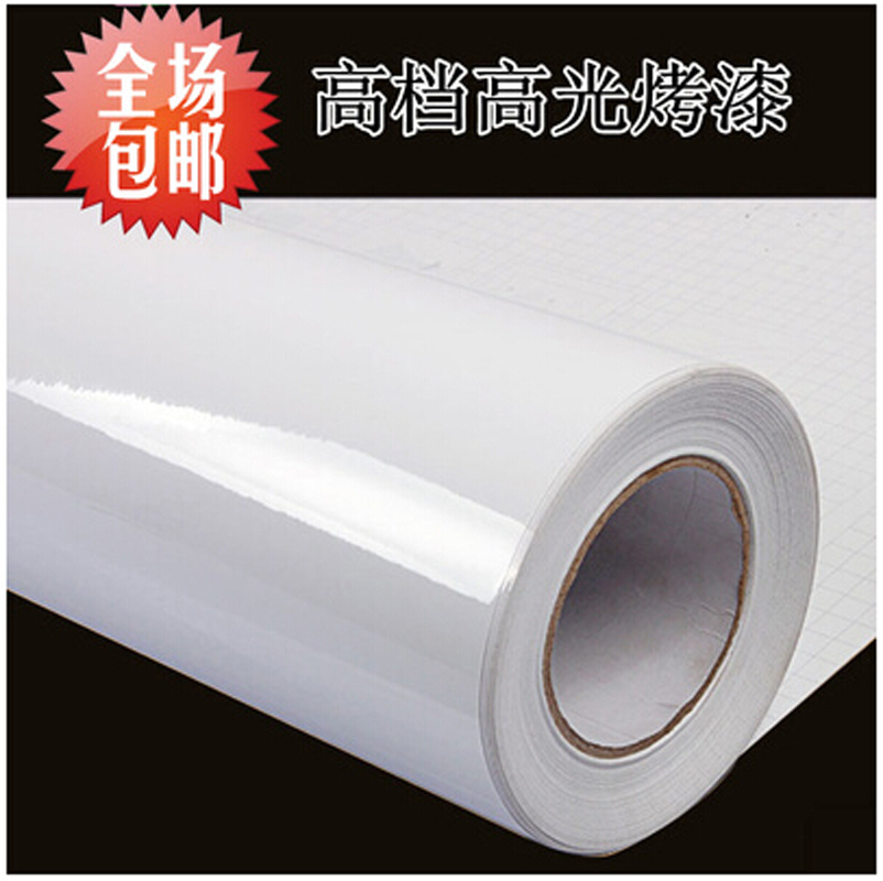 Popular high gloss white wallpaper buy cheap high gloss for What kind of paint to use on kitchen cabinets for vermeer stickers