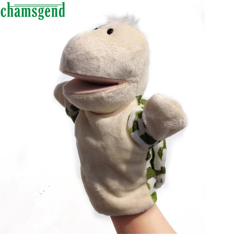 CHAMSGEND Best seller drop SHIP Cute dolphin style plush full body hand puppet toys S50(China (Mainland))
