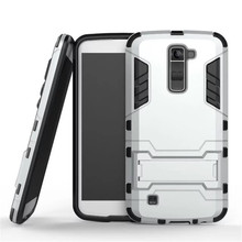 Buy ZEALLION LG K5 K7 K10 G4 G5 G6 V10 V20 Leon C40 Case 2 1 High Hard Plastic Silicone Stents Cases Back Cover for $2.24 in AliExpress store