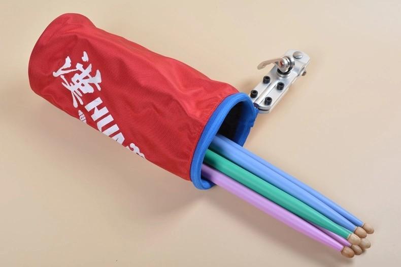 New Top quality professional canvas drum drum stick cylinder barrel pack Drumstick bag Drum hammer package bucket 10pcs sticks