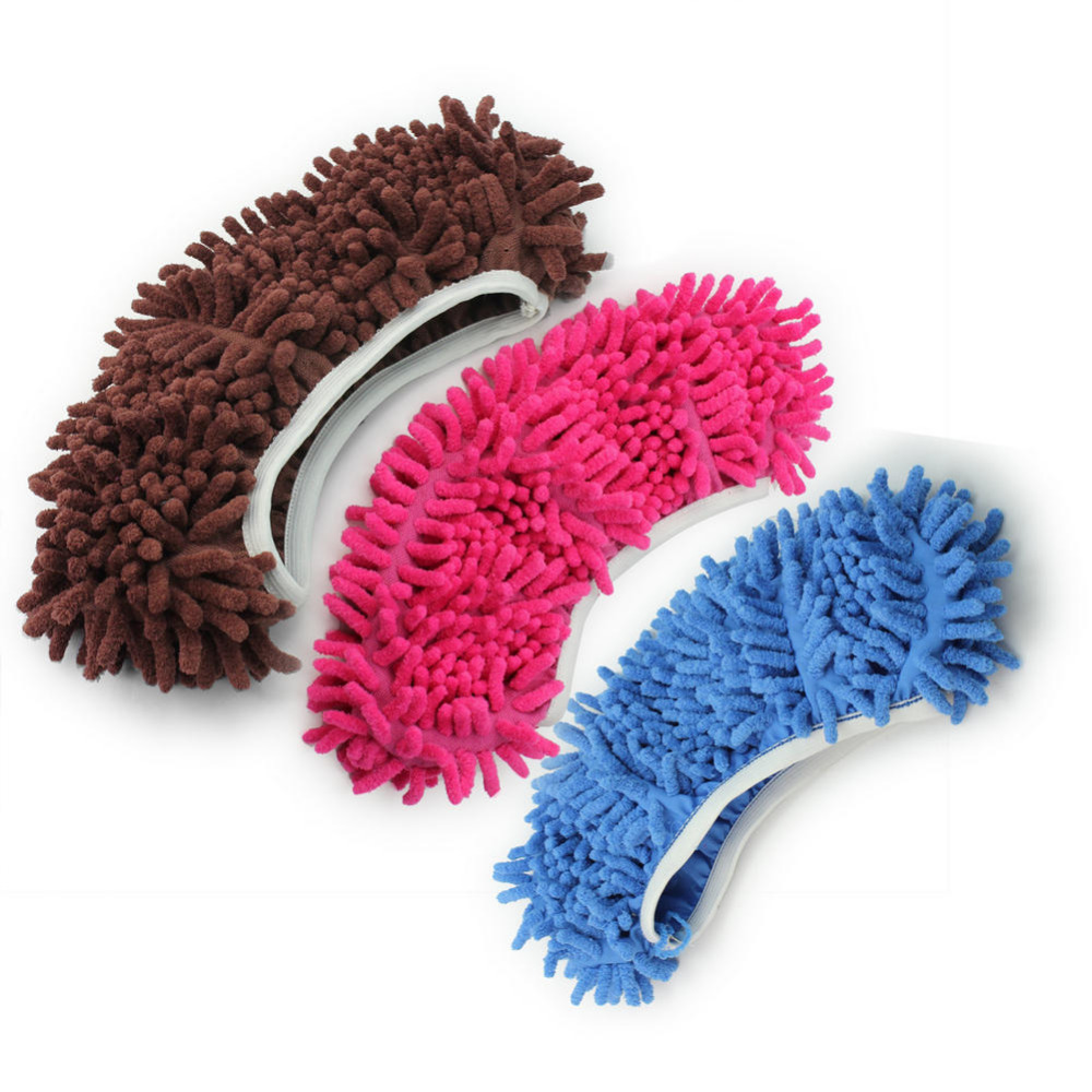 1pc Dust Mop Slipper Lazy Quick House Floor Polishing Cleaning Easy Foot Sock Shoe(China (Mainland))